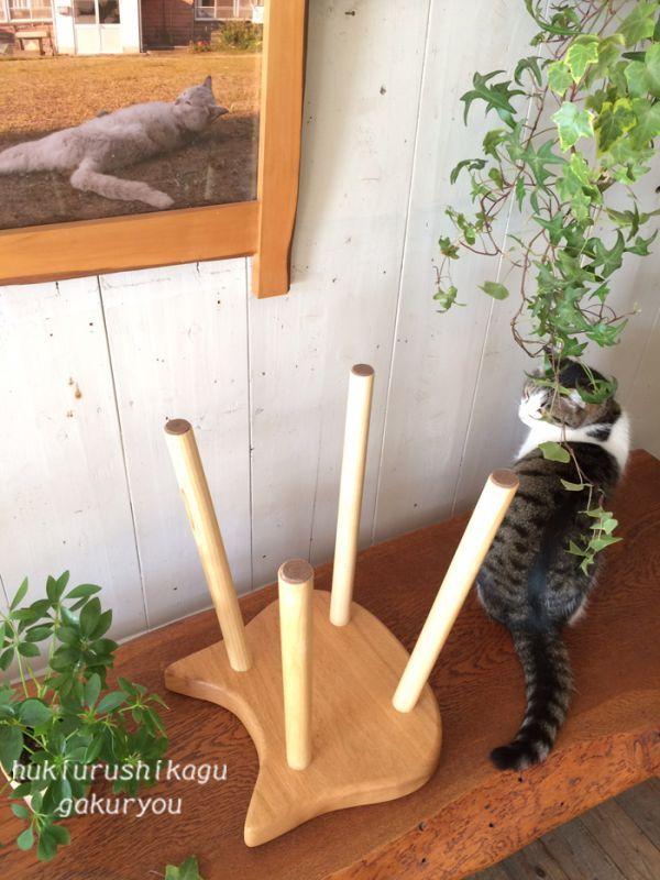 猫スツール
