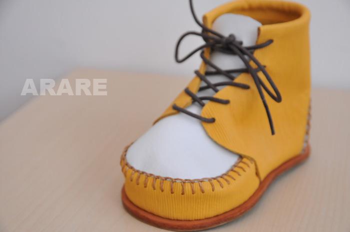 革靴の小物立て