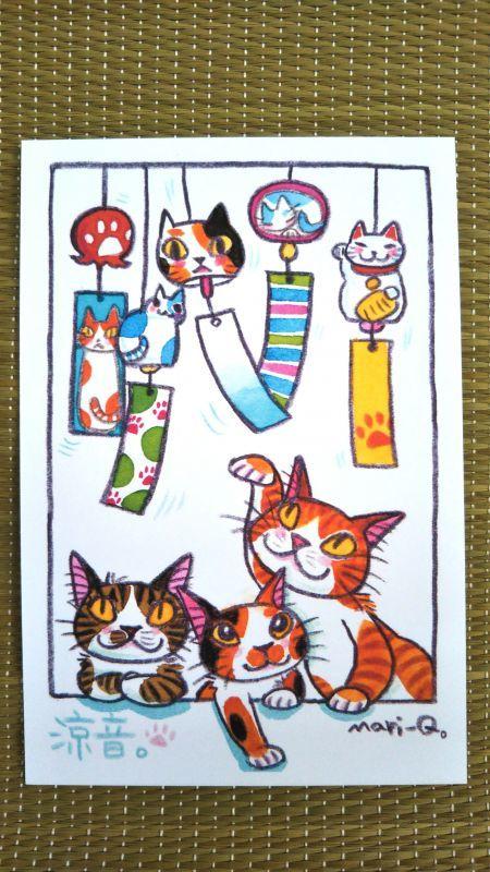 猫ポストカード