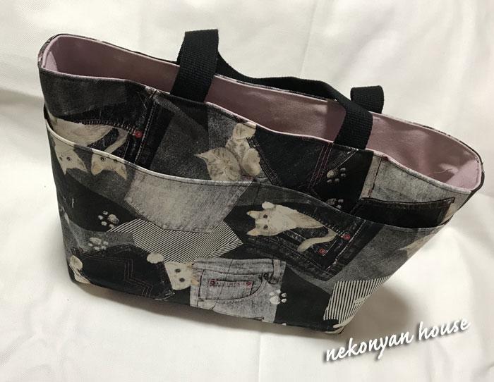 猫トートバッグ