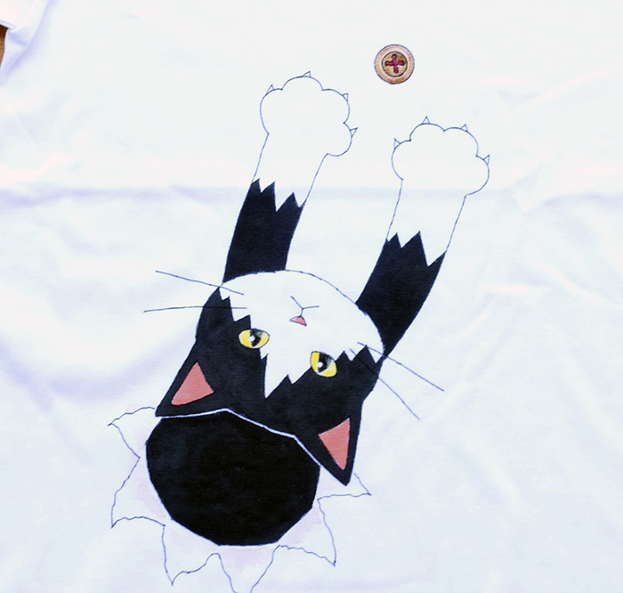 猫Tシャツ