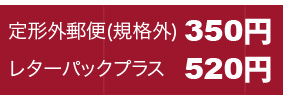 レタパ+定形外350円