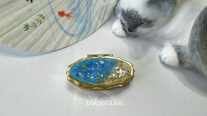 猫の小物入れ